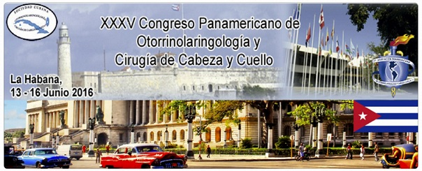 XXXV Congreso Panamericano de Otorrinolaringología y Cirugía de Cabeza y Cuello