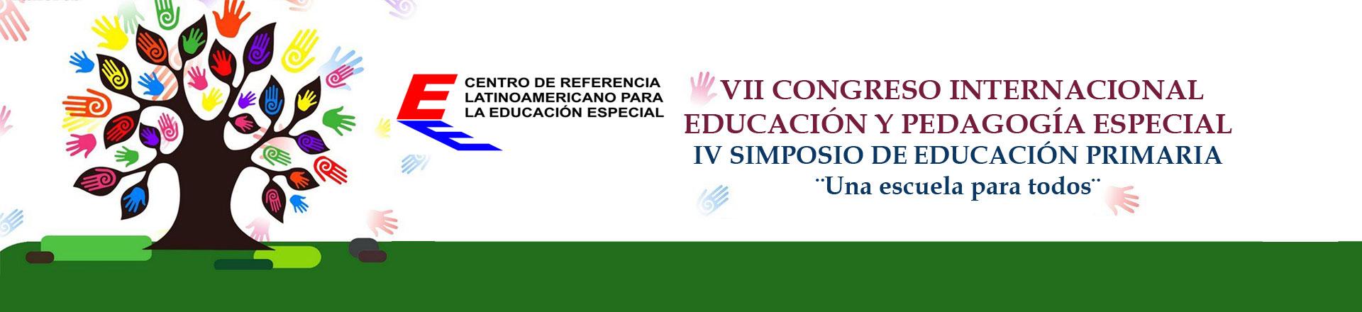 Congreso Internacional Educación y Pedagogía Especial
