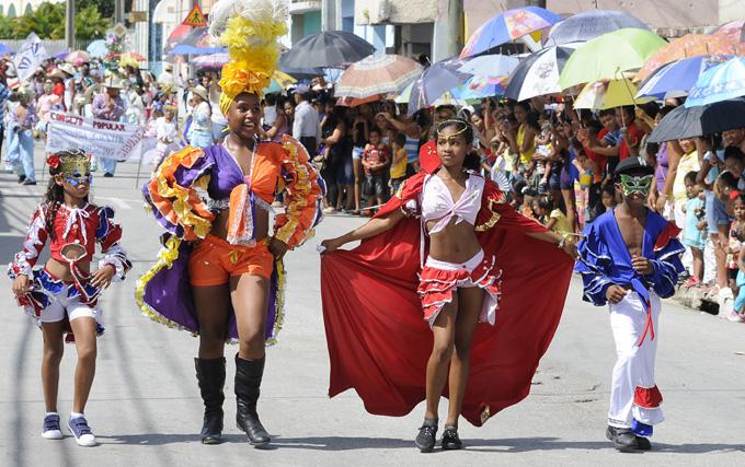 Carnaval infantil Bayamo 2015