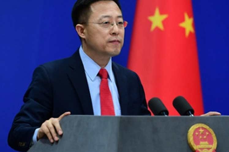 China Zhao Lijian