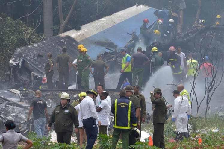 Habana Avion accidente
