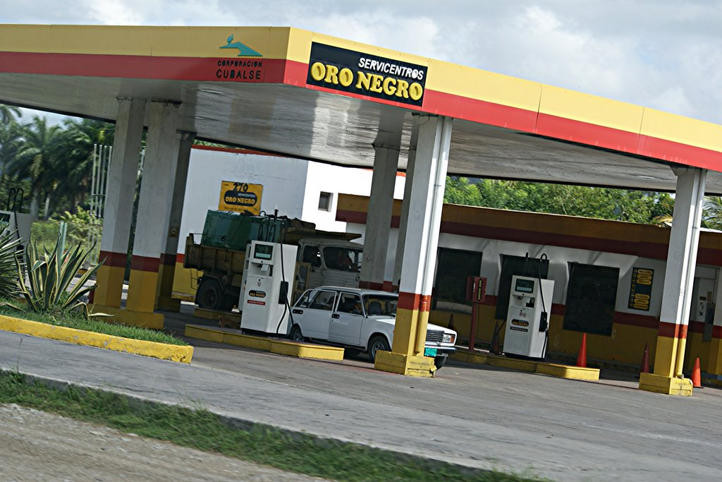Oro Negro Gas Station Cuba Havanatur