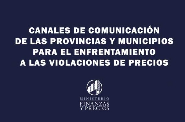 canales comunicacion precios violaciones enero2021