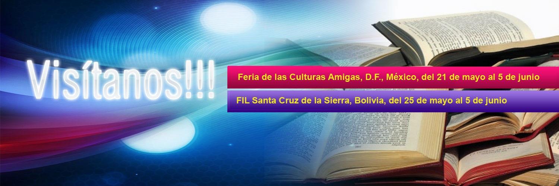 Editorial Citmatel en ferias internacionales de México y Bolivia