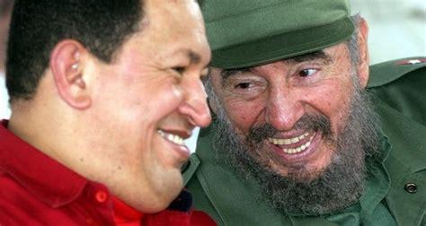 Rememora Díaz-Canel primer encuentro de Fidel y Chávez
