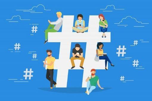 hashtag social geek
