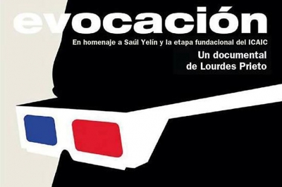 cartel del documental Evocación, de Lourdes Prieto