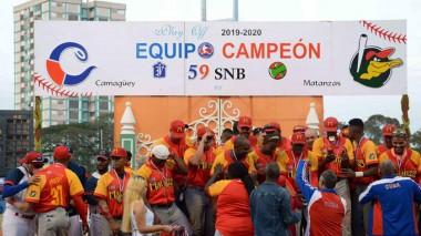 Matanzas campeón del béisbol cubano