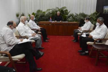 Sostiene Díaz-Canel conversación telefónica con Xi Jinping