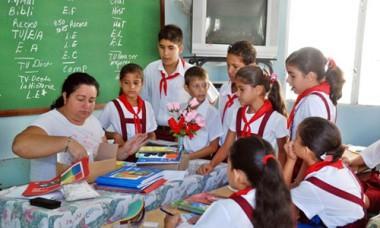 Educadores cubanos