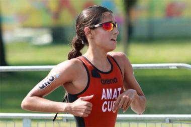 triatleta cubana, Leslie Amat