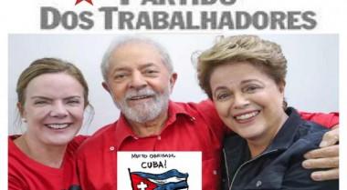 Partido de los Trabajadores de Brasil agradece a Cuba por atenciones brindadas a Lula
