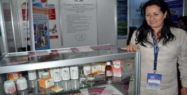 Productos del Centro de Histoterapia Placentaria (CHP) de Cuba