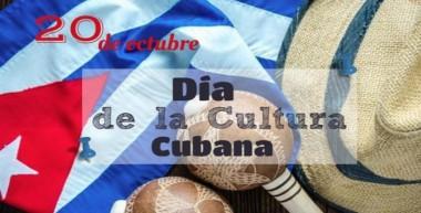 Imagen alegórica al día de la cultura cubana