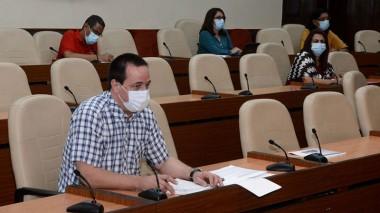 Ministro de Salud Pública, José Ángel Portal Miranda