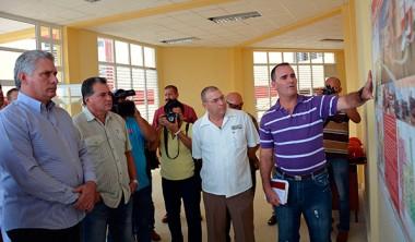 Reconoce Díaz-Canel batalla contra la sequía en Ciego de Ávila