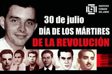 De los jóvenes cubanos, tributo a los mártires de la Revolución