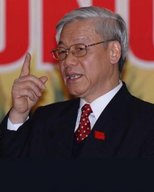 Nguyen Phu Trong, secretario general del Partido Comunista de Vietnam