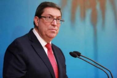 Canciller de Cuba califica de impostergable orden mundial justo