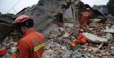 sismo en la provincia de Sichuan