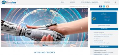 Banner alegórico a Portal de la Red de la Ciencia Cubana