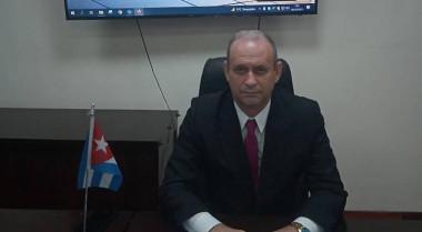 ministro de Energía y Minas, Livan Arronte Cruz.