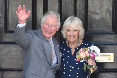 Príncipe Carlos de Gales y la duquesa Camila de Cornualles
