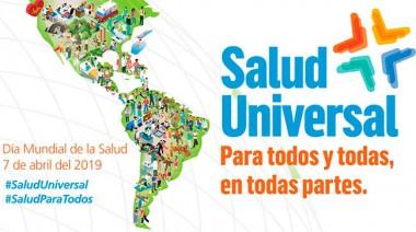 cartel por el día mundial de la salud