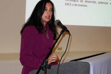 subdirectora general de mercadotecnia del Ministerio de Turismo de Cuba (Mintur), Dalila González