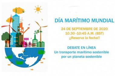 Día Marítimo Mundial, por un planeta sostenible