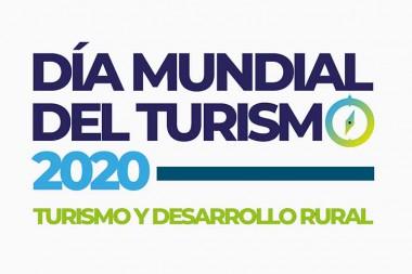 cartel por el Día Mundial del Turismo
