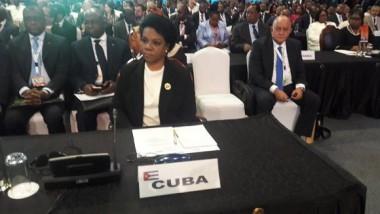 Inés María Chapman llama a la unidad en Cumbre de la ACP en Kenya