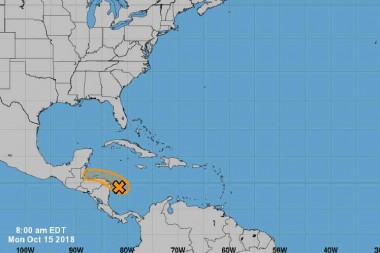 Advierten sobre posible depresión tropical sobre el mar Caribe