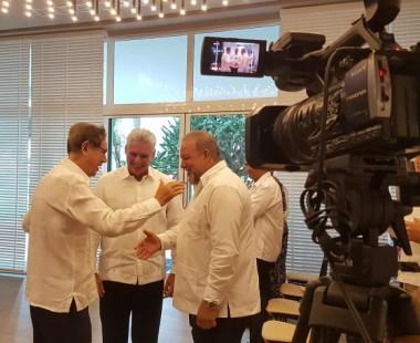 Asistió Díaz-Canel a inauguración de hotel Meliá Internacional en Varadero
