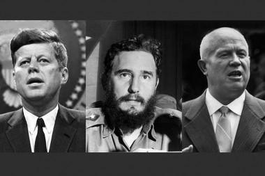 Kennedy, Fidel y Nikita