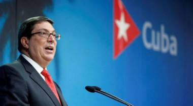 Bruno Rodríguez, ministro de Relaciones Exteriores