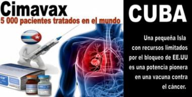 Vacuna contra el cáncer pulmonar desarrollada en Cuba