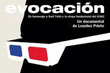 cartel del documental Evocación, de Lourdes Prieto