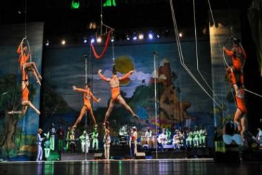 Artistas circenses de varios países animan Galas de verano en Cuba
