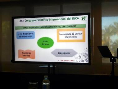 Convoca Instituto Nacional de Ciencias Agrícolas al XXII Congreso Científico Internacional