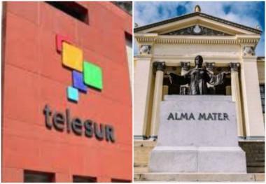Convenio Telesur y Universidad de La Habana