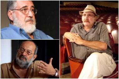 El productor Miguel Mendoza, el director de fotografía Livio Delgado y el sonidista Jerónimo Labrada recibirán hoy el Premio Nacional de Cine 2019