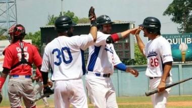 El Salvador dominó a Cuba 6-3 en el último choque de los tres amistosos. Foto: Carlos Hernández/ Fedebeis.