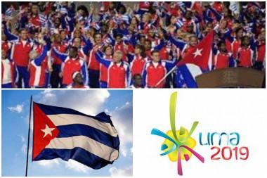 Delegación de deportistas cubanos para Lima-2019