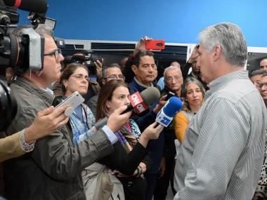 """Díaz-Canel: """"En nuestra historia hay todo un legado de resistencia y lucha"""""""