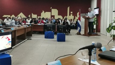 Miguel Díaz-Canel Bermúdez clausuró  el segundo Taller Nacional de Informatización y Ciberseguridad Territorial