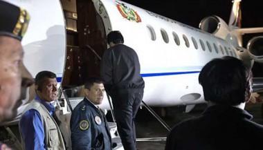 Evo Morales, partió en la madrugada de este jueves a Cuba