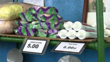 Abastecimiento de productos de aseo y normados en Cuba