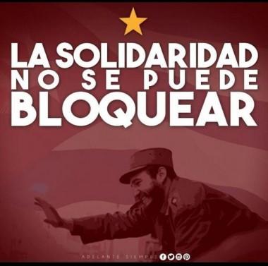 Fidel, el nombre que corre de boca en boca por estos días en que el mundo grita por solidaridad