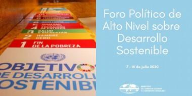 Foro Político de Alto Nivel de Desarrollo Sostenible